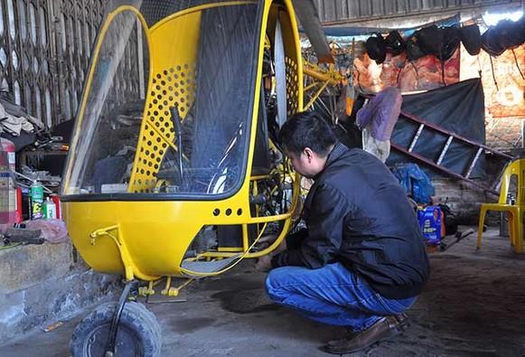 Thợ cơ khí thất vọng khi bị cấm chế tạo máy bay