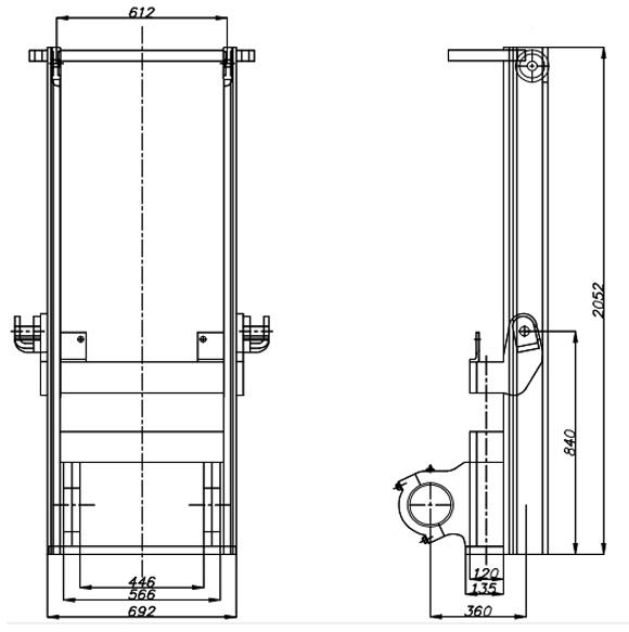 Cấu trúc của xe nâng hàng