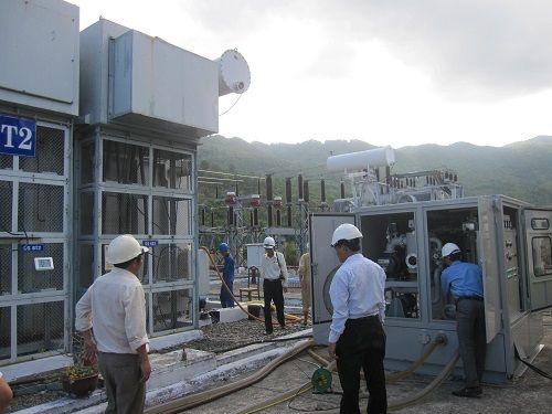 Máy biến áp nguồn cho cầu trục