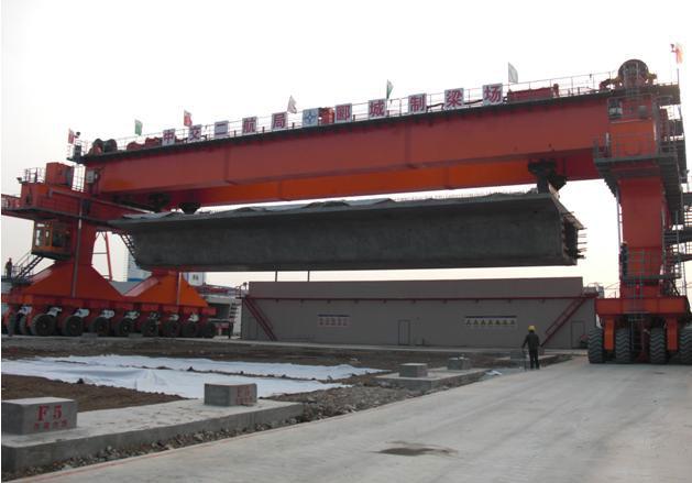 cầu trục bánh lốp 250 tấn