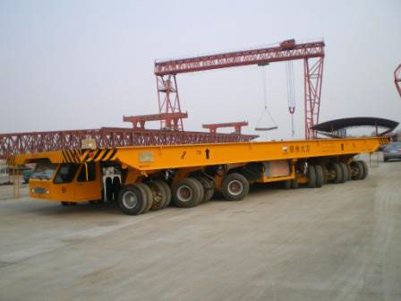 xe di chuyển dầm 500 tấn