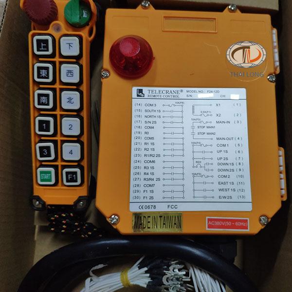 điều khiển từ xa Telecrane F24-12D