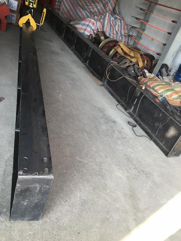 Dầm chạy cầu trục 5 tấn