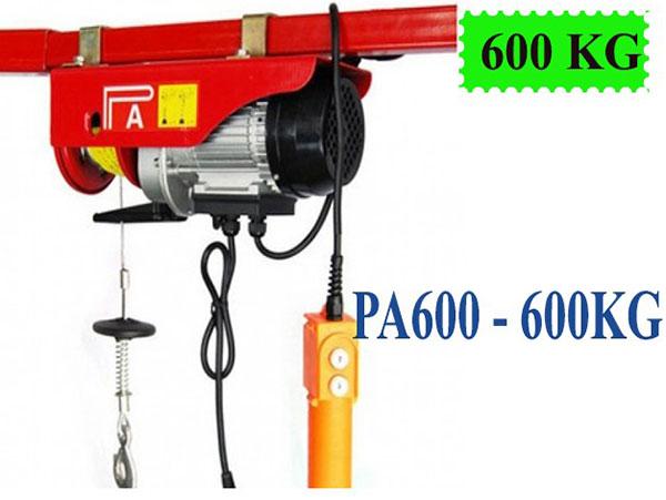 Tời điện Kaixun PA600 600kg