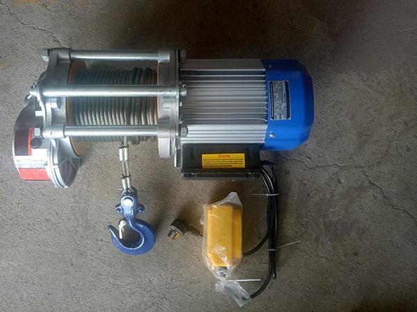 tời điện mặt đất CDK 1500kg
