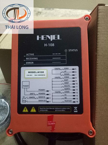 Điều khiển cầu trục từ xa Henjel H-108 1