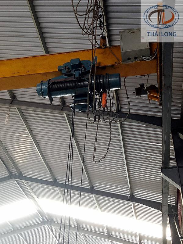 Hệ thống điện cầu trục trước khi được cải tạo 2