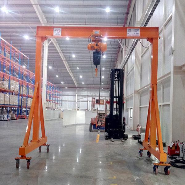 cổng trục đẩy tay 3 tấn 1