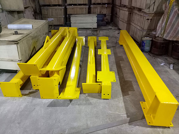 Tháo cổng trục đẩy tay 3 tấn