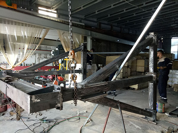 ghép dầm cổng trục đẩy tay 3 tấn