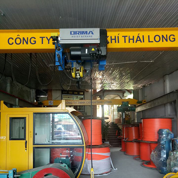 Palang cáp điện Brima 5 tấn 9m4