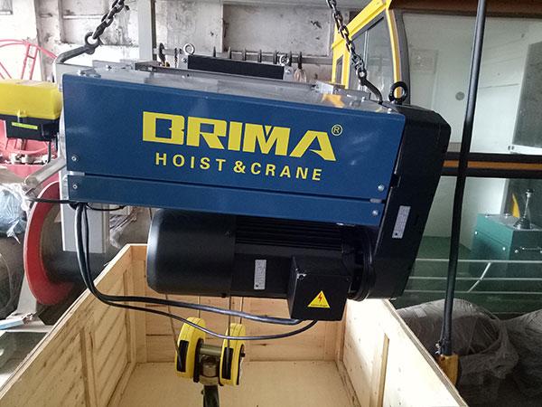 Palang cáp điện Brima 5 tấn 9m1