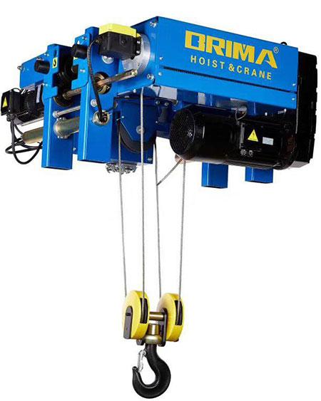 Palang cáp điện Brima dầm đơn 2