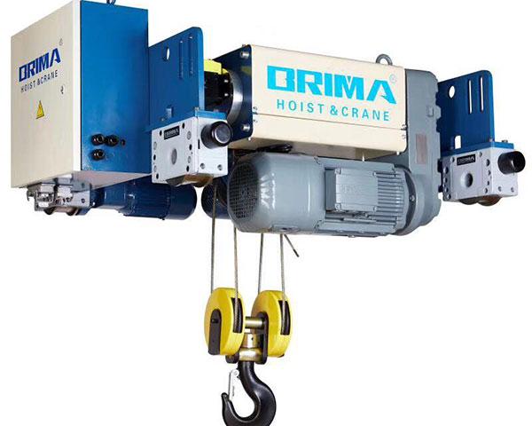 Palang cáp điện Brima dầm đơn 3