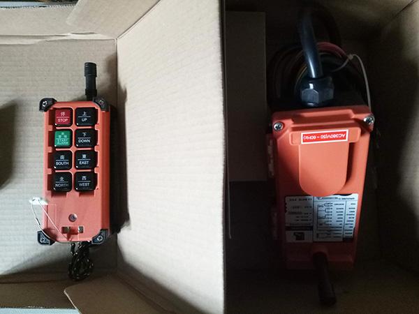 điều khiển cầu trục telecrane F21-E1 4