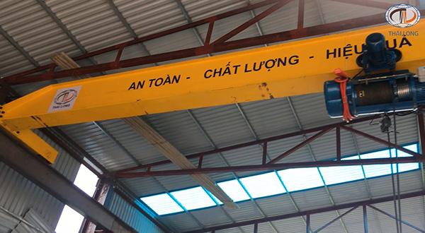Cầu trục 3 tấn ở Quảng Ninh 6
