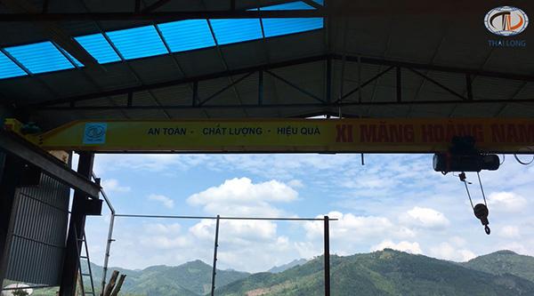 Cầu trục 3 tấn ở Quảng Ninh 7