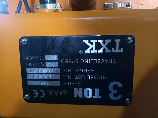 cụm di chuyển palang xích điện TXK 3 tấn1