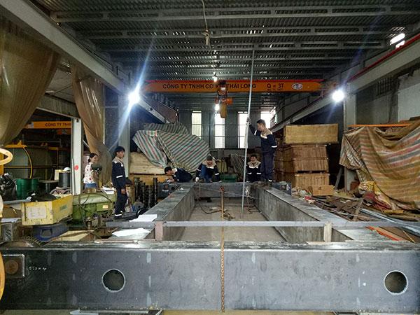 dầm chính cầu trục 20 tấn dầm đôi 2