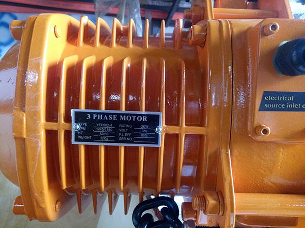 Palang xích điện TXK 2 tấn2