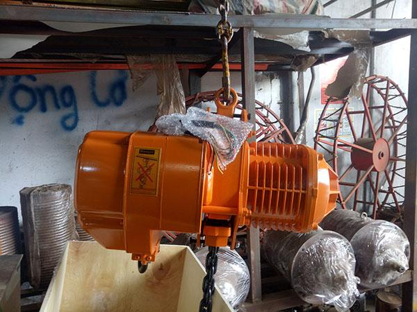 Palang xích điện TXK 2 tấn3
