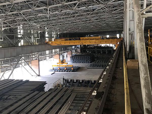 cầu trục dầm đôi 16 tấn + 16 tấn