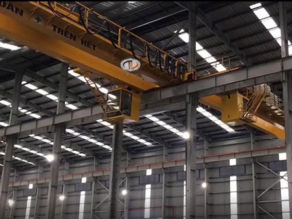 cầu trục 10 tấn dầm đôi