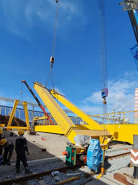 lắp đặt cổng trục 20 tấn 3