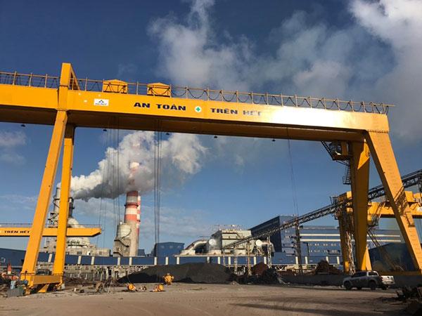 cổng trục 16 tấn + 16 tấn